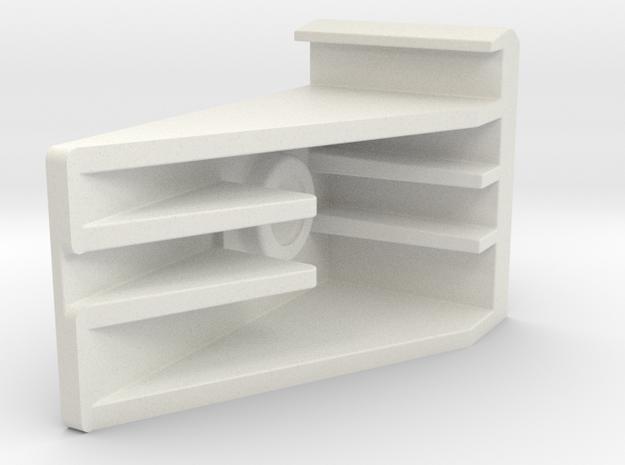 Kfk 0023134 DC - Zawieszenie Szyby L in White Natural Versatile Plastic