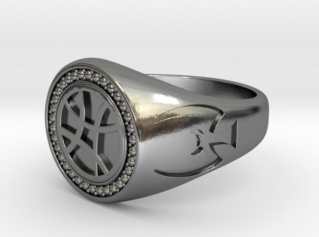 Sanctum Sanctorum Ring in Polished Silver: 9 / 59