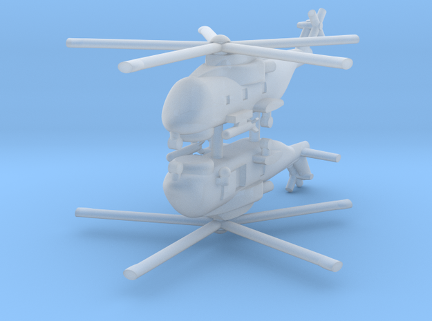 1/600 AW101 (HM1) Merlin (x2) in Smooth Fine Detail Plastic