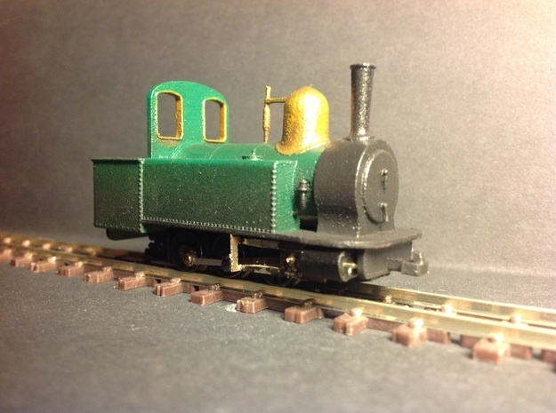 Alexandra (Victorian freelance 0-6-0) in Smooth Fine Detail Plastic