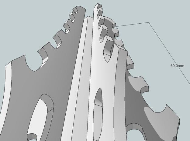 6mm Eldaritch Spire 3d printed