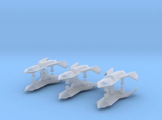 1/500 Boeing Bird of Prey (x6) in Smooth Fine Detail Plastic