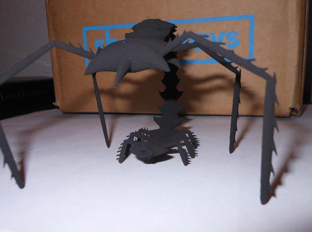creature final 3d printed