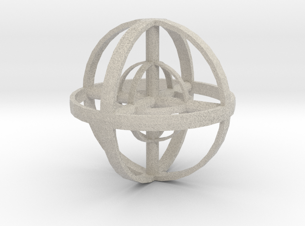 Zenball in Natural Sandstone