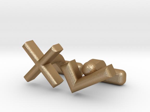 XTICK CL in Matte Gold Steel