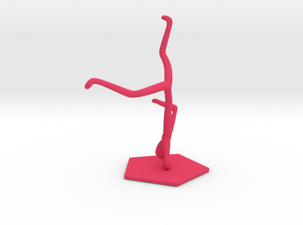 Breakdance Statue (updated) 3d printed
