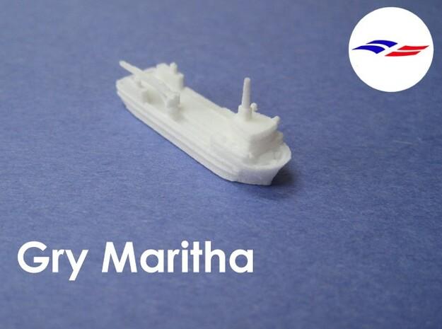 MV Gry Maritha (1:1200) 3d printed