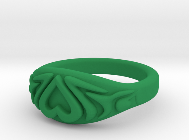 Heart Ring very small 3d printed