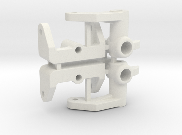 NIX91-Steering Blocks SLS in White Strong & Flexible