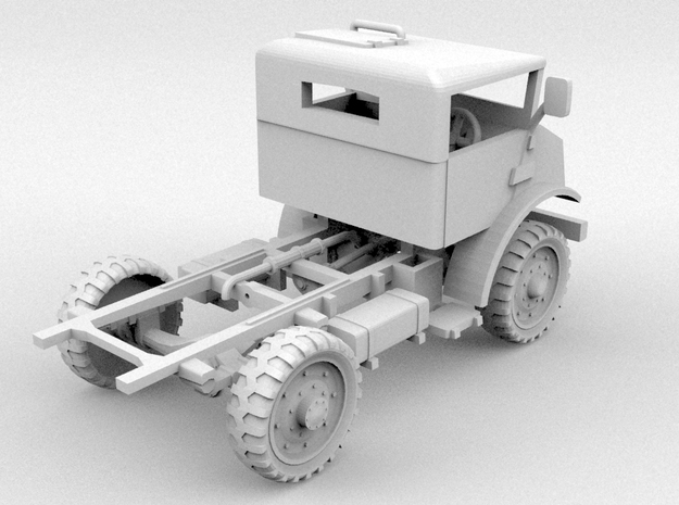 CMP C15 Cab+Chassis(O/1:48 Scale) 3d printed