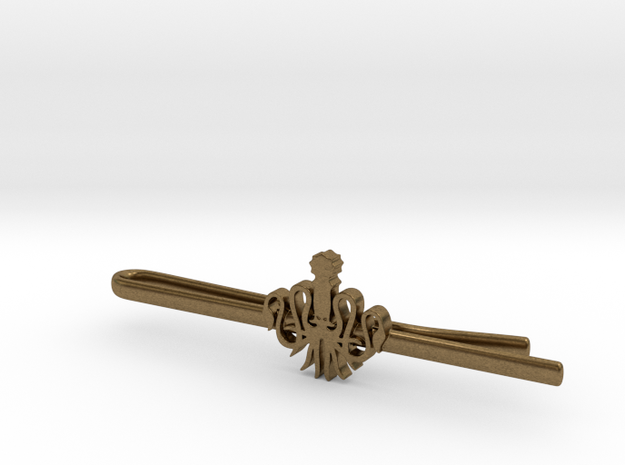 Game of Thrones: House Greyjoy Tie Clip 3d printed