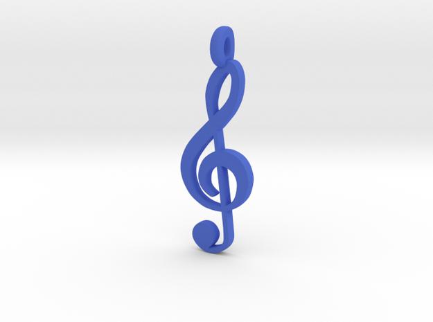 TrebleClef Small 3d printed