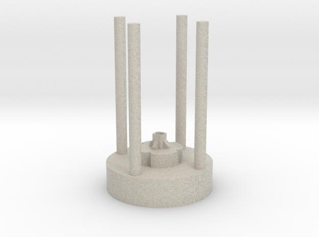 Crystal Chamber Kit 1/2 in Natural Sandstone