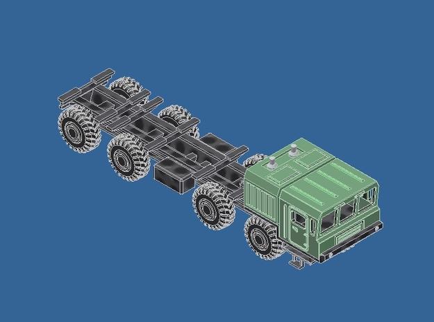 Z Gauge 1:220 МЗКТ Mzkt Komplett Fahrgestell  in Frosted Ultra Detail