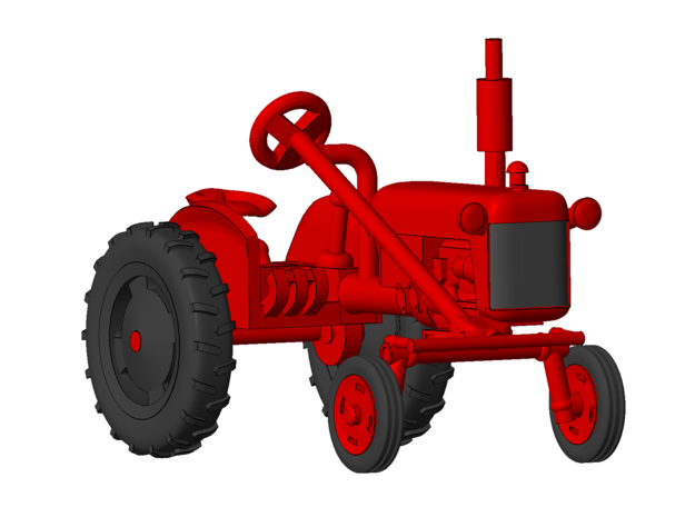 1-64 Scale 1950 Potato Tractor in Frosted Ultra Detail