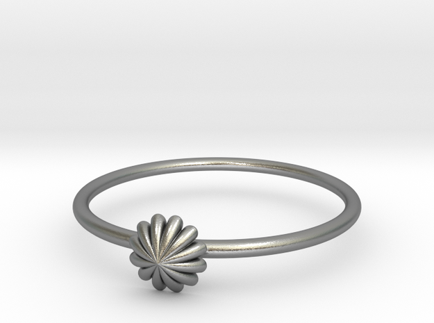 Bague Chantilly in Natural Silver