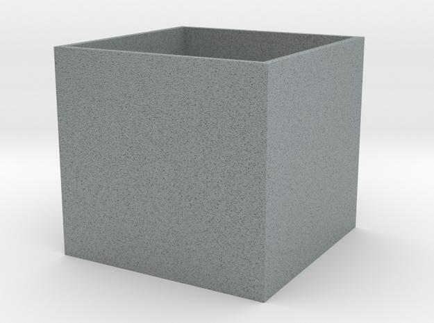 Cube Planter Medium 1:12 scale 3d printed