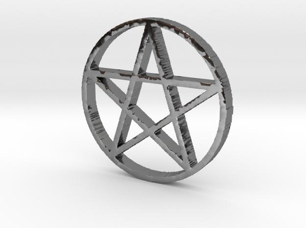 Pentagram in Premium Silver