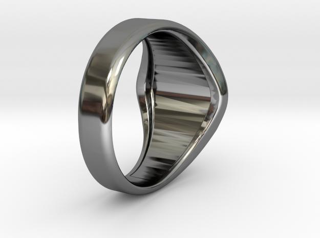 Masonic Ring Size 8 in Premium Silver
