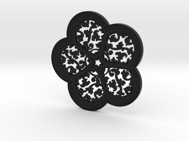 Cinquefoil Coaster