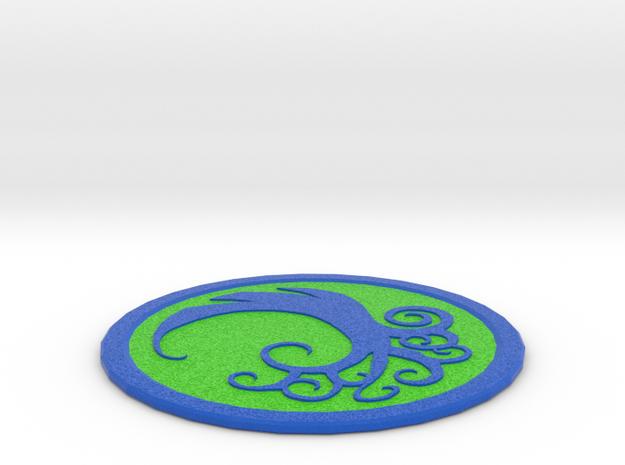 Simic Coaster in Full Color Sandstone