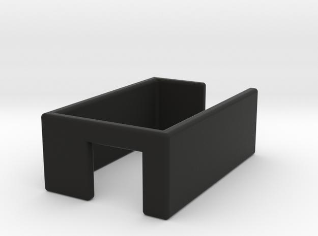 Mobius Bumper in Black Natural Versatile Plastic