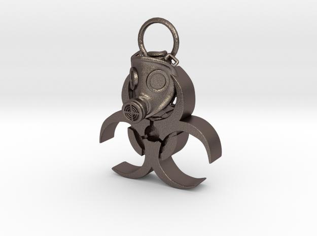 Gasmask in Stainless Steel