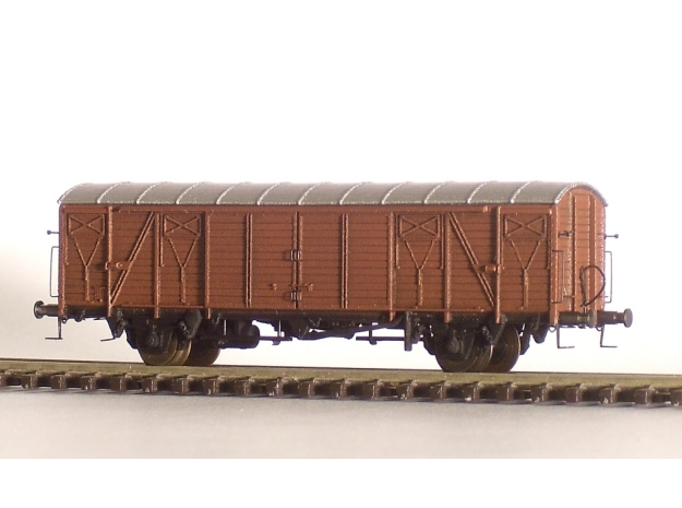 2251 1/148 German train-ferry van E006 in Frosted Ultra Detail