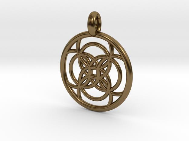 Amalthea pendant 3d printed
