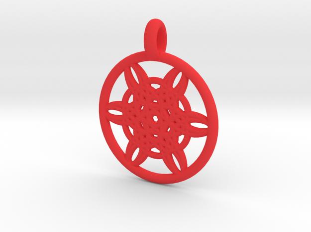 Helike pendant 3d printed