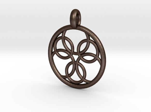 Pasithee pendant 3d printed