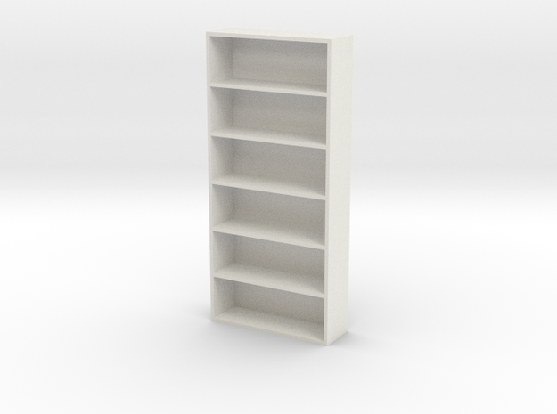 Home Book Shelf in White Strong & Flexible