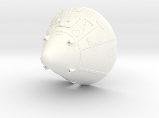 Apollo BPC 1:48 Dragon Prebuilt BPC in White Processed Versatile Plastic