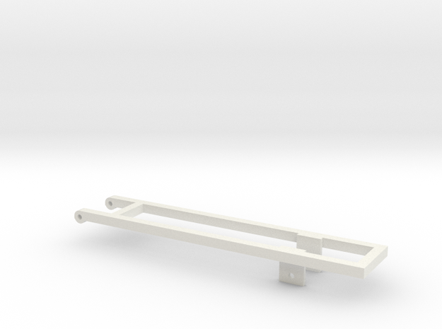 Single 18' Bed frame in White Strong & Flexible