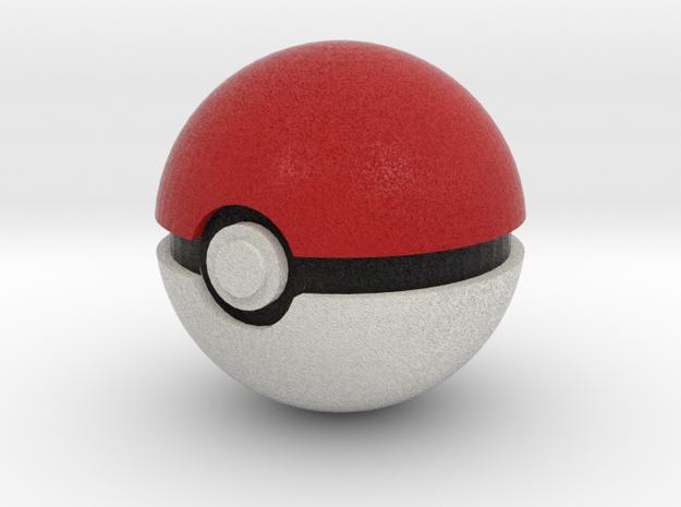 Pokeball in Full Color Sandstone