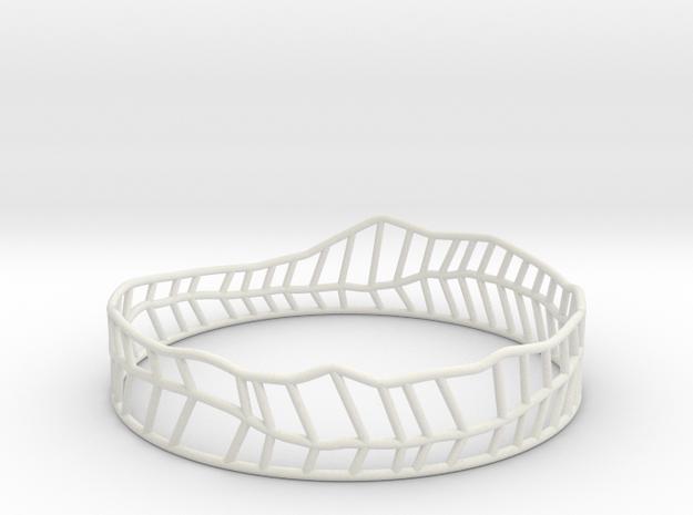 Philibert in White Natural Versatile Plastic