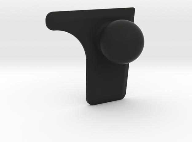 Golf Mk6 Radio Garmin Ball Mount, Right Side in Black Natural Versatile Plastic