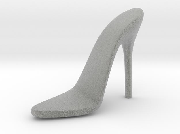 Women High Heel Base Right Shoe in Metallic Plastic