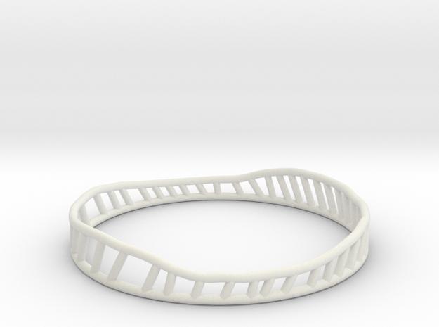 Phileas 2 (thicker version) in White Natural Versatile Plastic