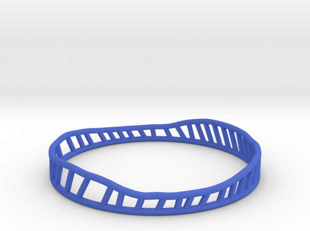 Phileas 2 (thicker version) in Blue Strong & Flexible Polished