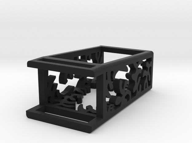 Plastic Matisse slide for Fitbit Flex in Black Natural Versatile Plastic