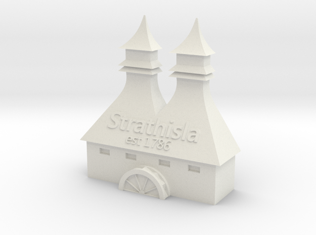 Strathisla Distillery in White Strong & Flexible