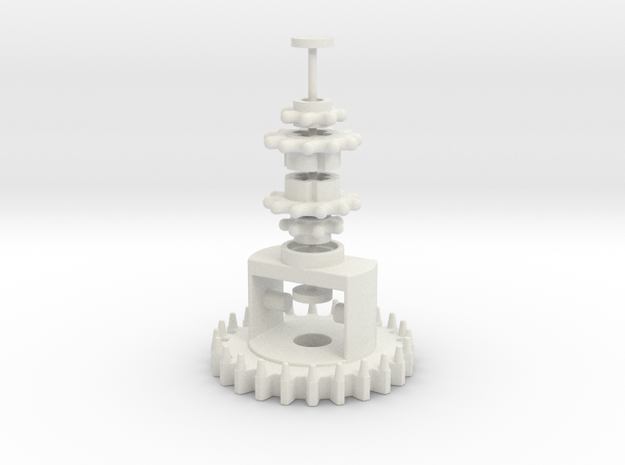 Diff 24z 2M in White Natural Versatile Plastic