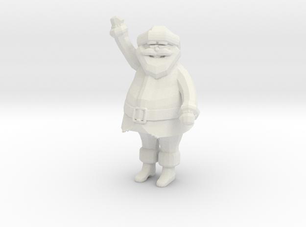 Santa in White Strong & Flexible