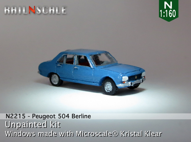 Peugeot 504 (N 1:160) in Frosted Ultra Detail