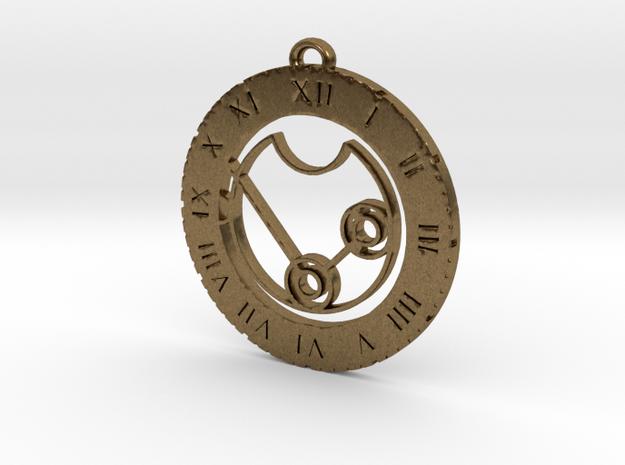 Nikita - Pendant in Natural Bronze