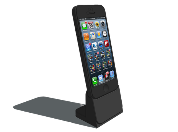 PREHITI iPhone 5 Dock in White Strong & Flexible Polished