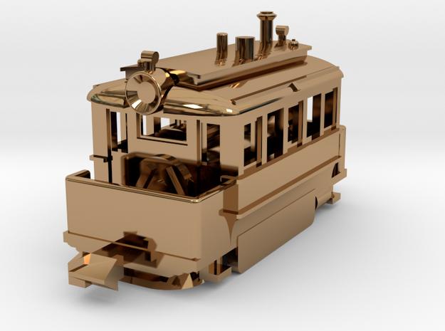 1001-2 Baldwin Steam Tram (Type A) 1:148 3d printed