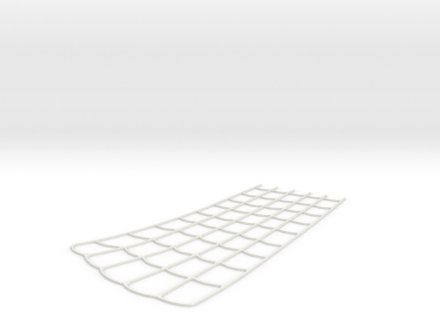 Spider-Man Right Arm-2 Webbing (fits kenlandrum pr in White Natural Versatile Plastic