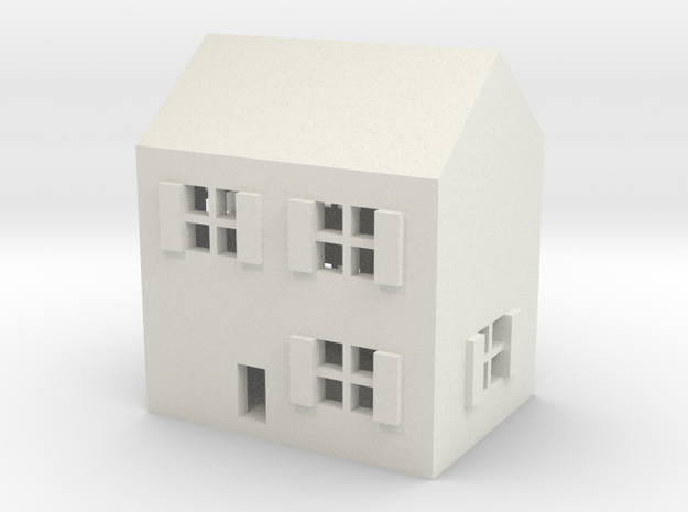 1/600 Town House 1 in White Strong & Flexible